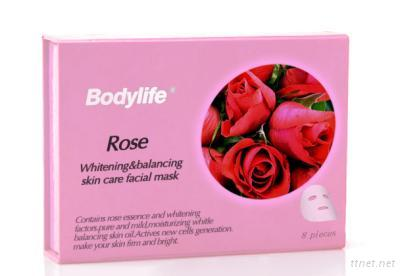 Rose Whitening & Balancing Skin Care Facial Mask