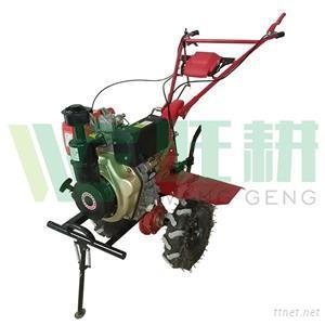 Big Tilling Width Rear Tine Diesel Cultivator For Weeding In Orchard