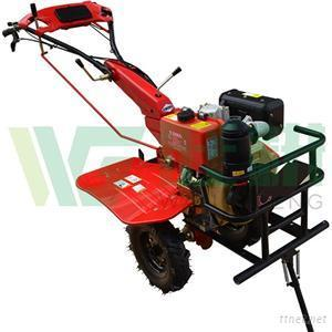 Big Wheel And Front Bracket Diesel Cultivator With Trailer Optional Upgrade