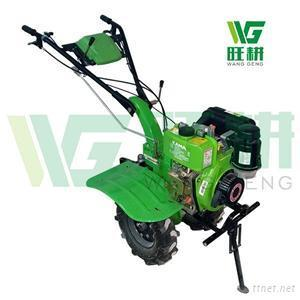 Chonginqg Big Wheel Diesel Tiller Cultivator Used In Mountain Hill With Optional Rear Tine