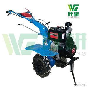 10HP Kama Diesel Power Rototiller With Multi-function Usage For Sale