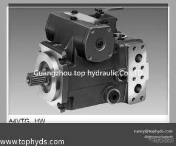 Rexroth Hydraulic Piston Pump A4VTG71/90 For Concrete Mixers