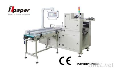 OPT-4OJ Box type soft draw or roll tissue paper automatic packing machine, automatic tissue paper processing handle fixing machine