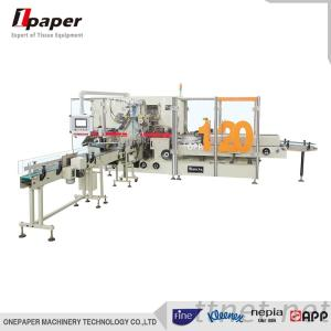 High Speed High Automation Degree Soft Facial Tissue Towel Paper Packing Machine, Servo Motor PLC System Good Performance Napkins Machine