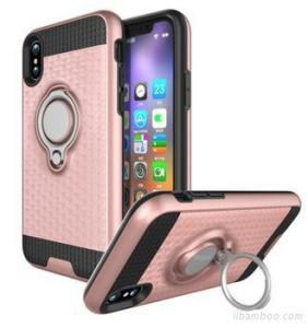 Phone Case For Iphone 8 Drop Resistant Perfect Hand Feeling Durable Material Finger Ring Case