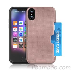 Phone Case Iphone 8 Case Drop Resistant Perfect Hand Feeling Durable Card Slot Case