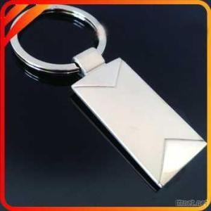 Fashional Key Ring With Rectangle Shape For Promotion