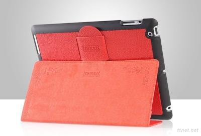 New Style Ipad 2 Case for Stand Made Of Genuine Leather