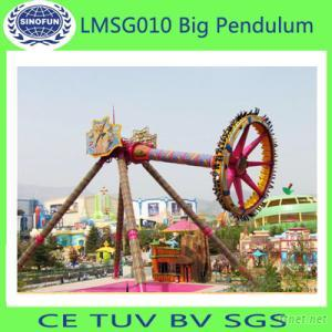 Popular And Hot Sale! Theme Park Outdoor Playground Equipment Amusement Rides Giant Frisbee