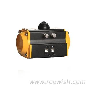 Double Acting Pneumatic Valve Actuator For Ball Valve Butterfly Valve