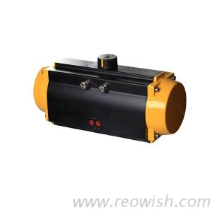 Single Acting Pneumatic Valve Actuator For Ball Valve Butterfly Valve