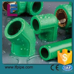 Green And White Color Ppr Fittings, Factory Direct Sell
