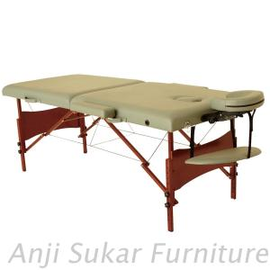 Affordable Red Legs Portable Wooden Massage Table