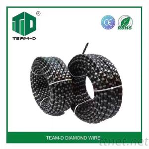 Concrete Cutting Diamond Wire Saw For Cutting Reinforced Concrerte And Quarry Stone