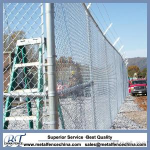 Galvanized Chain Link Iron Wire Mesh Fence Roll