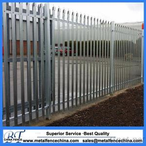 Designed Factory Cheap & High Quality Galvanized And Pvc Coated Steel Palisade Fence, Palisade, Euro Fence