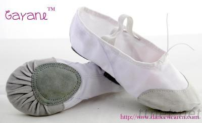 Leather Toe Ballet Shoe