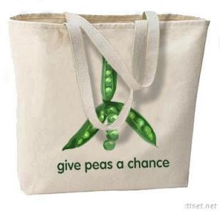 Eco Friendly Cotton Shopping Bag, Canvas Promotional Shopping Bags