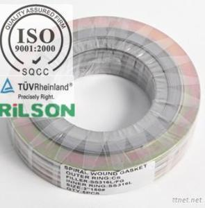 Spiral Wound Gasket With Inner & Outer Rings