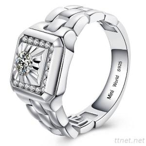 Watch Style Ring For Men