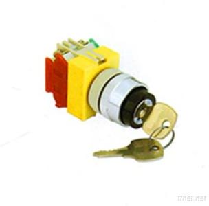 Key Switch Lock, Signal Lamps and Push Button Switch-K22 Series