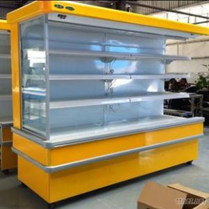 Supermarket Convenience Stores Fruits And Vegetables Refrigerator Display Cabinet
