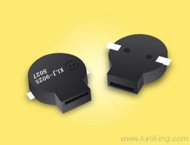 Passive SMD Buzzer, Magnetic Surface Mounted Buzzer L10.5Mm*W9.0Mm*H2.5Mm  KLJ-9025-5027