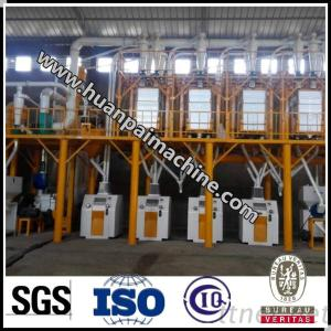 Wheat/Maize/Corn Flour Milling Machinery / Grain Processing Plant