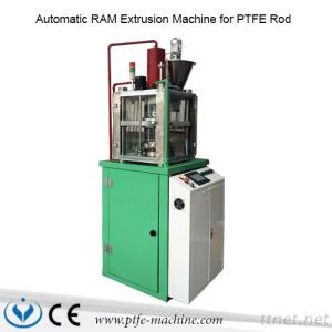 Teflon Rod Automatic RAM Extrusion Machine