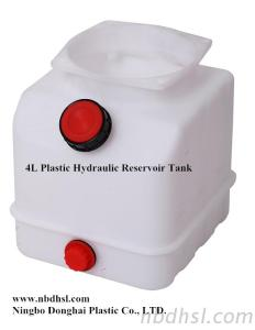 4L Plastic Oil Tank For Hydraulic Power Pack