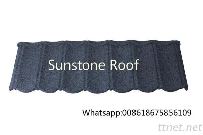 Factory Wholesale Stone Coated Steel Roofing Tile / Building Material Prices In Nigeria / Kenya