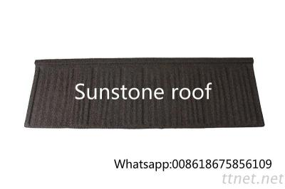 European Standard Aluminium Zinc Roofing Sheets/ Good Quality Stone Coated Metal Roof New Wooden Shingle Style