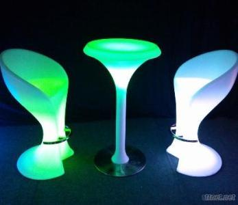 Led Bar Table And Chairs
