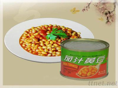Soy Beans In Tomato Sauce (Canned Food)