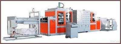 Fully Automatic Vacuum PS Forming Machine