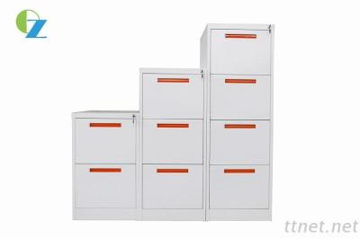 Modern Design 4 Drawers Office Hanging Filing Steel Cabinet / Drawer Cabinets