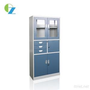 Cheap KD File Cabinet with 3 Drawers steel storage cabinets with brand lock