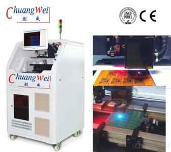 17W UV Optowave Laser PCB Depaneling Machine Without Cutting Stress, CWVC-6