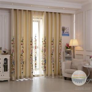 2017 Luxury Mulei Floral Embroidery Window Curtains Retail