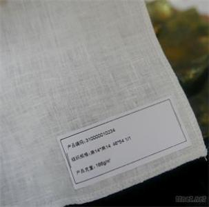 100% Linen Fabric Solid