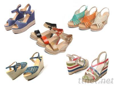 Women Fashion Wedge Sandals Shoes