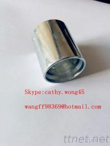 Hydraluic Hose Fitting Ferrule For 2 Wire Hose