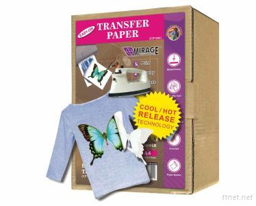 Light Fabric Transfer Paper A4 500 Sheets