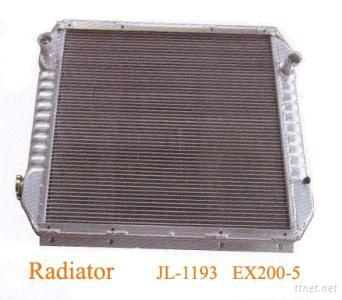 Aluminum Radiator For EX200-5 Excavator