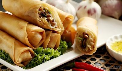 IQF  Vegetables Spring rolls