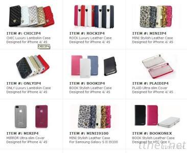 Genuine Mobile Phone And Tablet Leather Cases