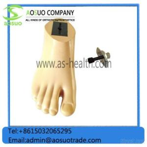 Home Products Prosthetic Foot Carbon Fiber with Adapter Carbon Fiber with Adapter