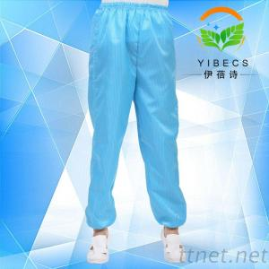 Antistatic Workwear, ESD Trousers, Striped Pants Clean Trousers Antistatic Clothing