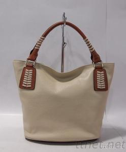 Cow Leather Generous And Simple Lady Handbag
