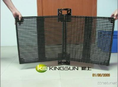 P15.625 Curved Curtain Led Display